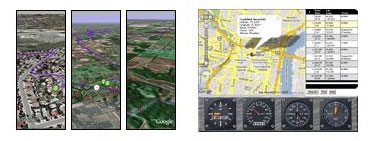 GPS track stick