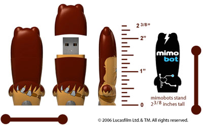 Chewbacca USB drive