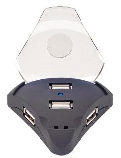 4 port triangular USB hub