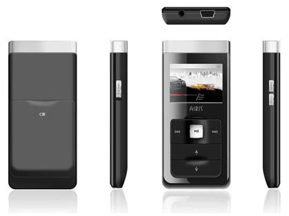 airis dap player