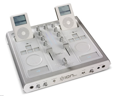 ipod audio mixer