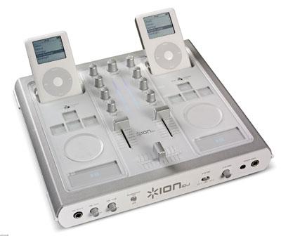 ipod audio mixer