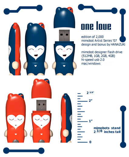 valentine flash drive