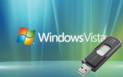 vista flash drive