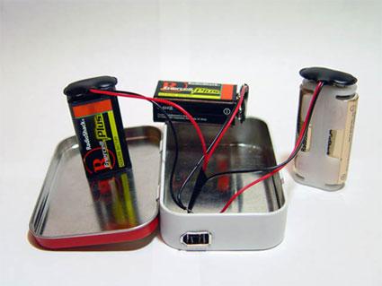 charger ipod DIY