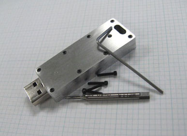 aluminum USB case