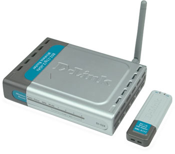 D-Link USB wireless network kit