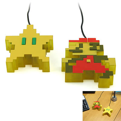 Mario Brothers USB Mouse 2
