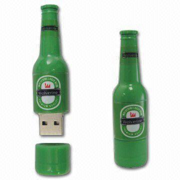usb beer bottle