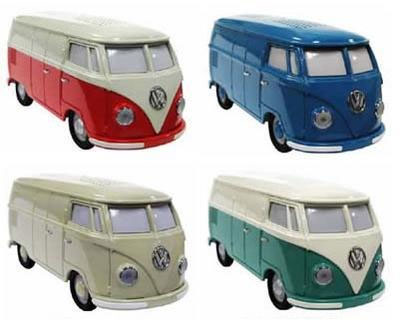 usb clock radio volkswagon van