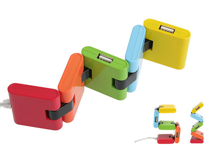 color chromatic usb hub