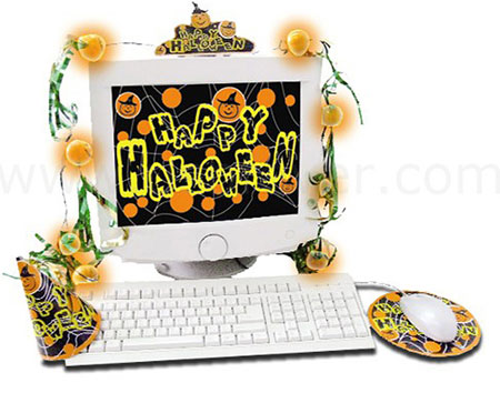 usb halloween decoration kit