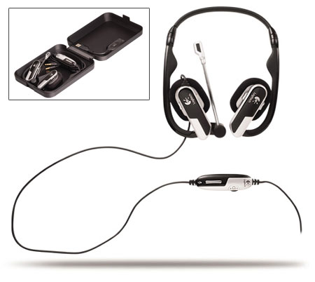 logitech notebook headset