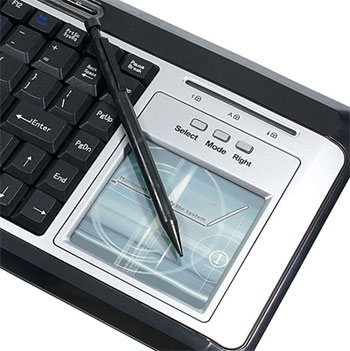 usb keyboard with stylus