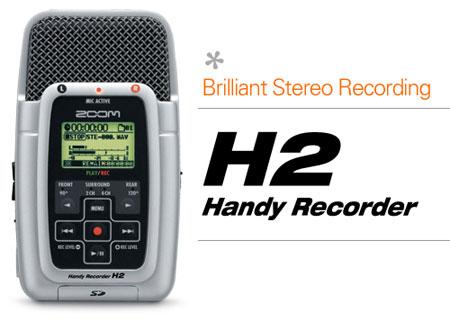 zoom h2 recorder
