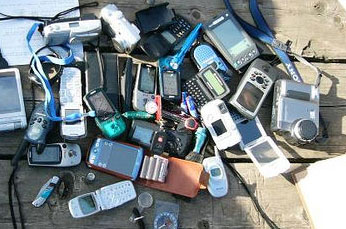 pile of gadgets
