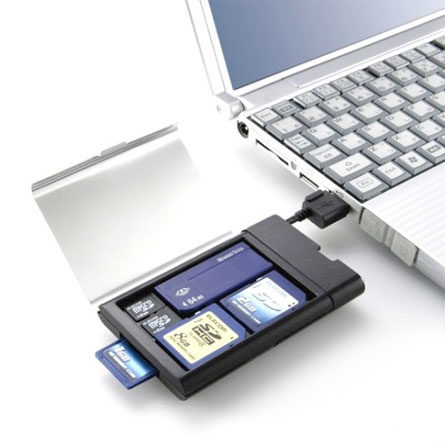 flash memory card reader