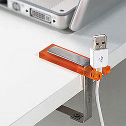 usb cable holder