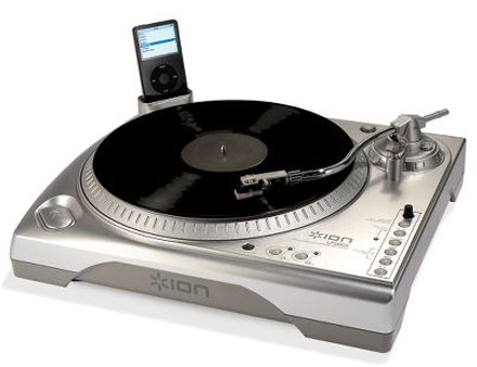 usb turntable with ipod dock