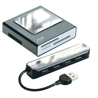 lindy mirror usb hub card reader