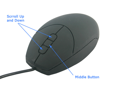usb waterproof mouse