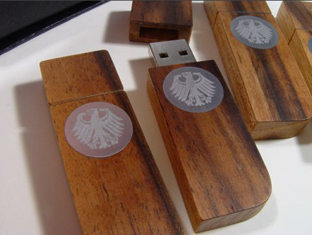 hand crafted usb drive